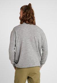 Icebreaker - TABI REAL CREWE - Sweatshirt - mottled grey - 2