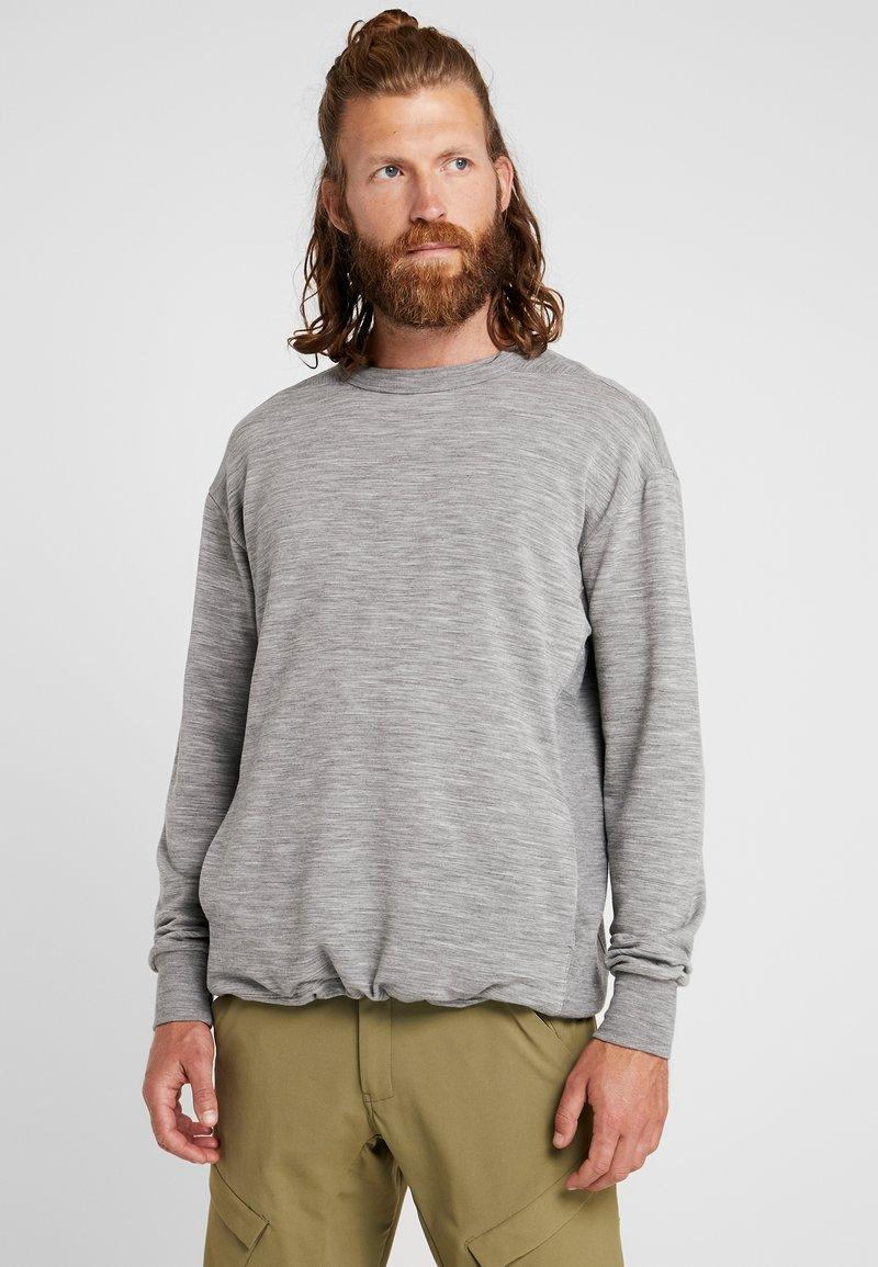 Icebreaker - TABI REAL CREWE - Sweatshirt - mottled grey