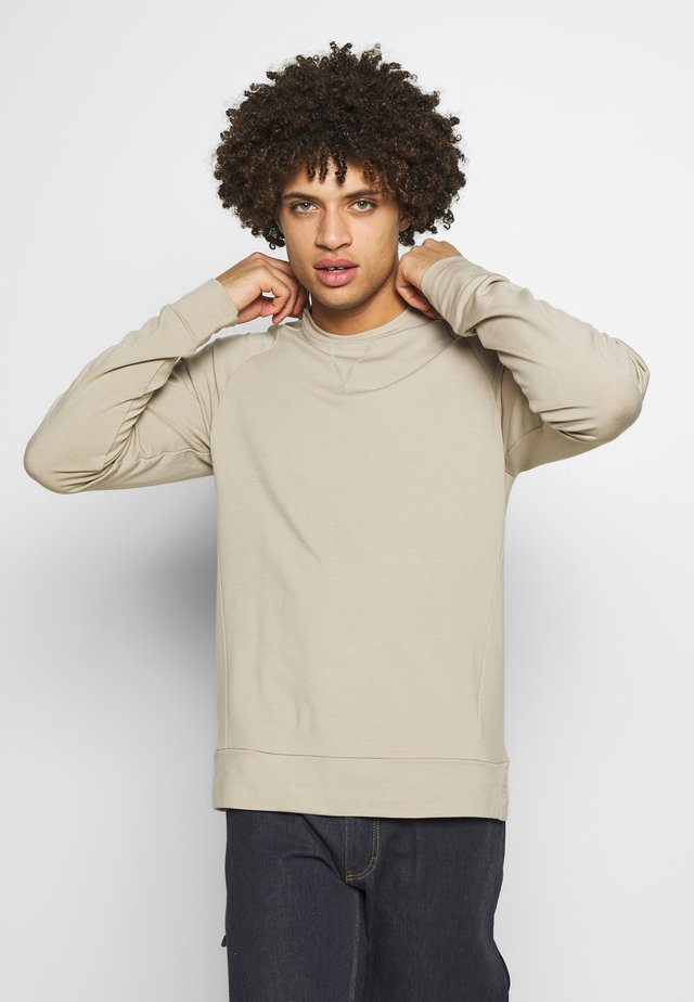 MOMENTUM  - Sweatshirt - british tan