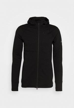MENS QUANTUM ZIP HOOD - Bluza rozpinana - black