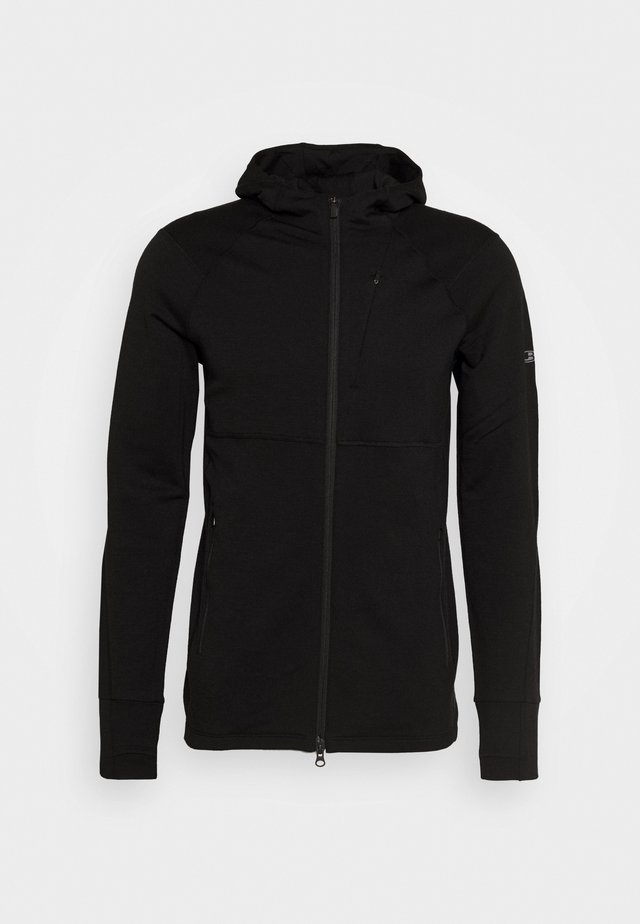 MENS QUANTUM ZIP HOOD - Sweatjacke - black