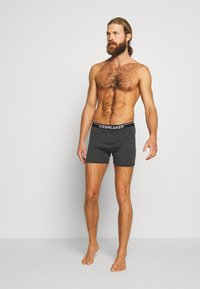 Icebreaker - MENS ANATOMICA BOXERS - Panties - jet heather - 1