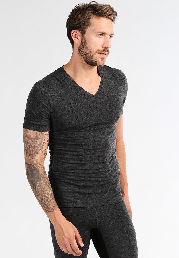 Icebreaker - MENS ANATOMICA  - Unterhemd/-shirt - jet heather/black