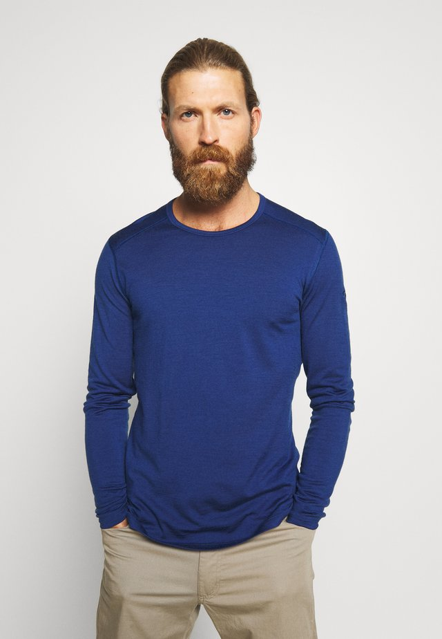 MENS CREWE - Funktionströja - estate blue