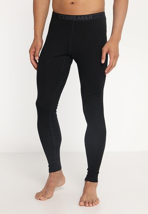 TECH LEGGINGS - Pitkät alushousut - black/monsoon