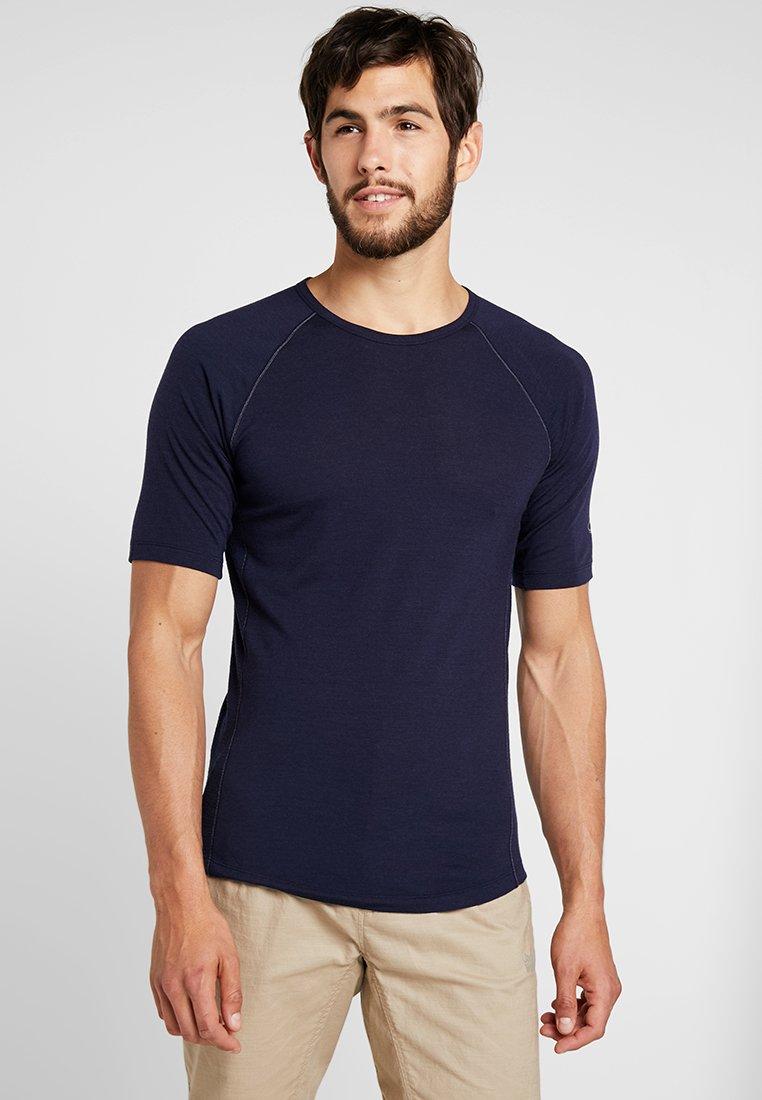 Icebreaker - MENS ZONE CREWE - T-shirt print - midnight navy