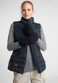 Icebreaker - ADULT QUANTUM GLOVES - Gloves - black - 1