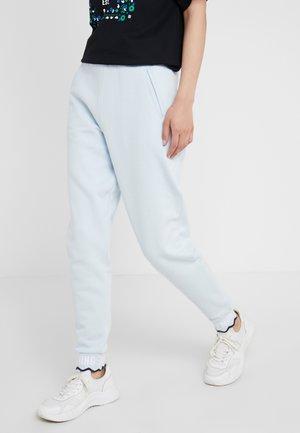SCALLOP CROP  - Spodnie treningowe - dust blue