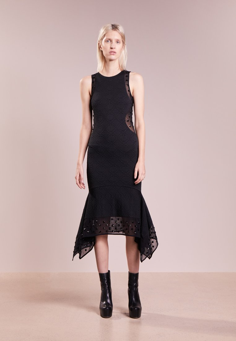 Opening Ceremony - MEDALLION DRESS - Vestito elegante - black