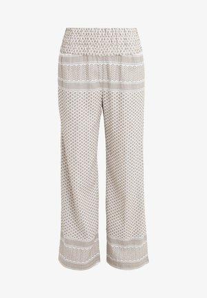 BASIC TROUSERS - Spodnie materiałowe - taupe grey