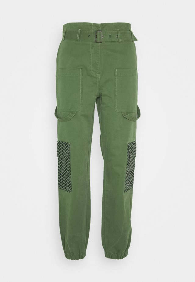 MARTHA - Pantalon classique - army
