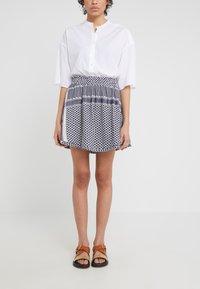 CECILIE copenhagen - SKIRT - Mini skirt - night - 0