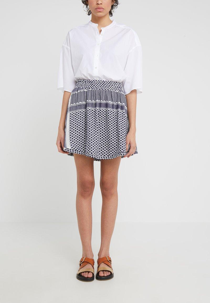 CECILIE copenhagen - SKIRT - Mini skirt - night
