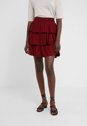 BECKY - A-line skirt - blackberry