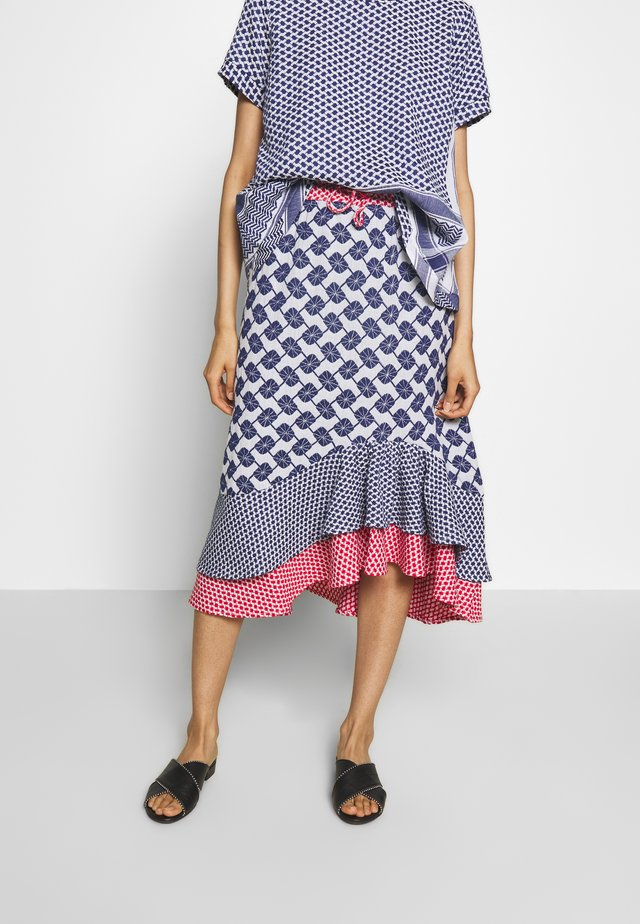 JACKIE - A-line skirt - navy