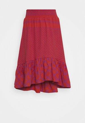 STINNE - Spódnica trapezowa - fuchsia