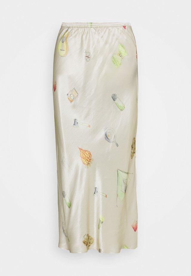 GYRITH - Pencil skirt - cream