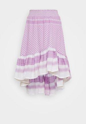 STINNE - Jupe trapèze - purple