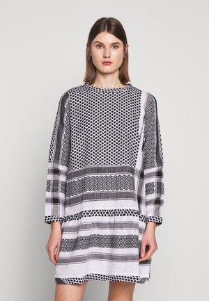 DRESS - Robe d'été - black/stone