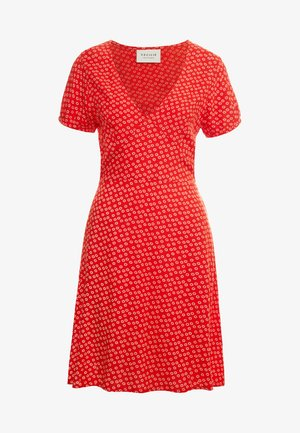 JEANETTE DRESS - Freizeitkleid - red lip