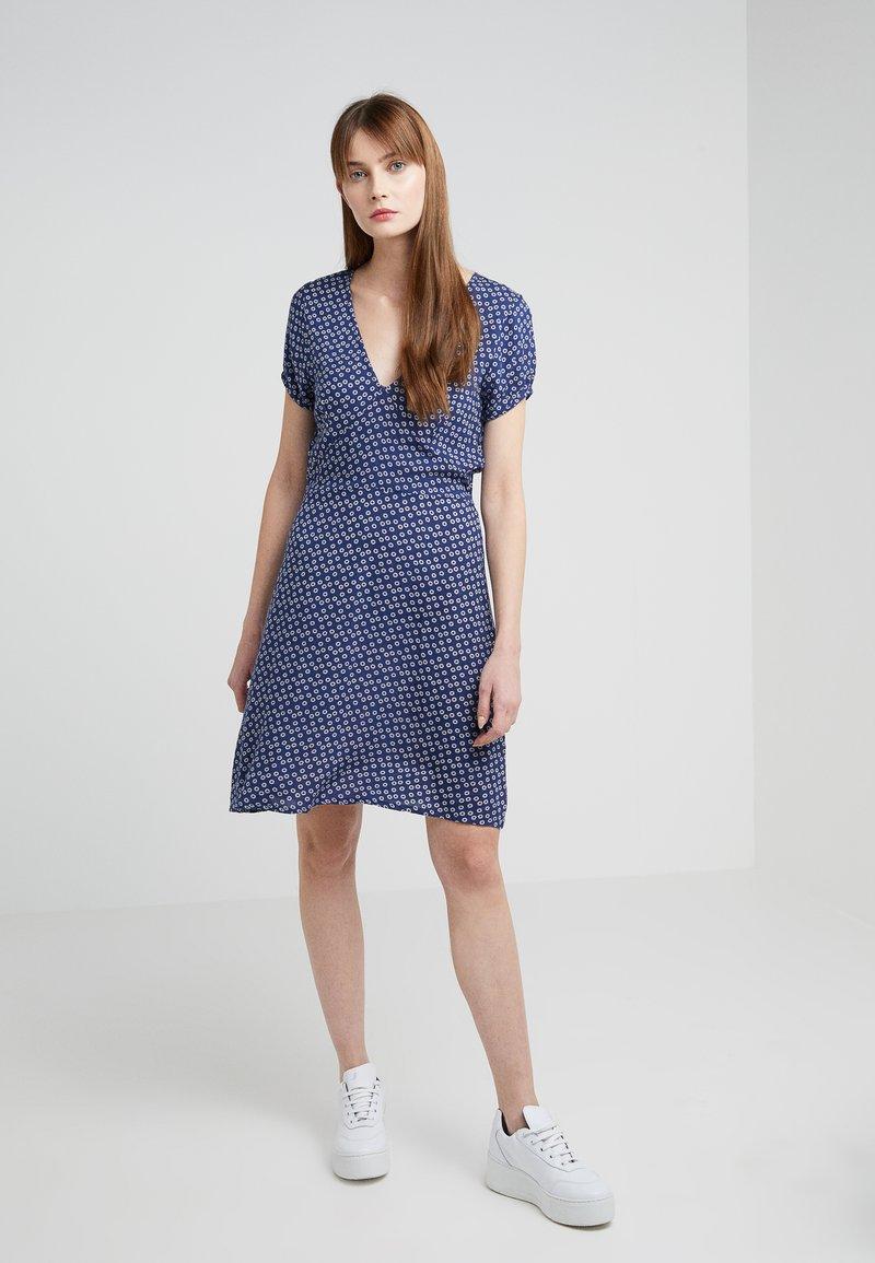 CECILIE copenhagen - JEANETTE DRESS - Sukienka letnia - midnight