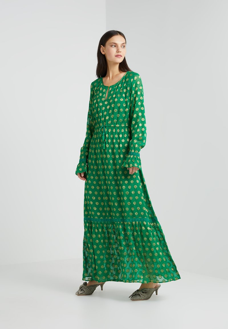 CECILIE copenhagen - LOTTA DRESS - Maxikleid - grass