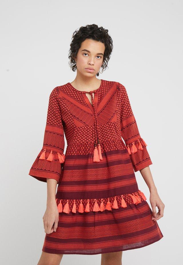 IDA DRESS - Freizeitkleid - safran