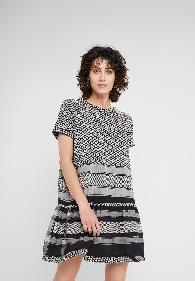 DRESS - Day dress - black/stone