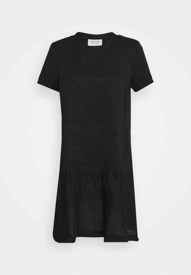 DRESS - Korte jurk - black