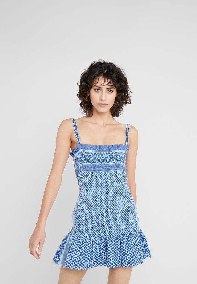 JUDITH - Sukienka letnia - saphire