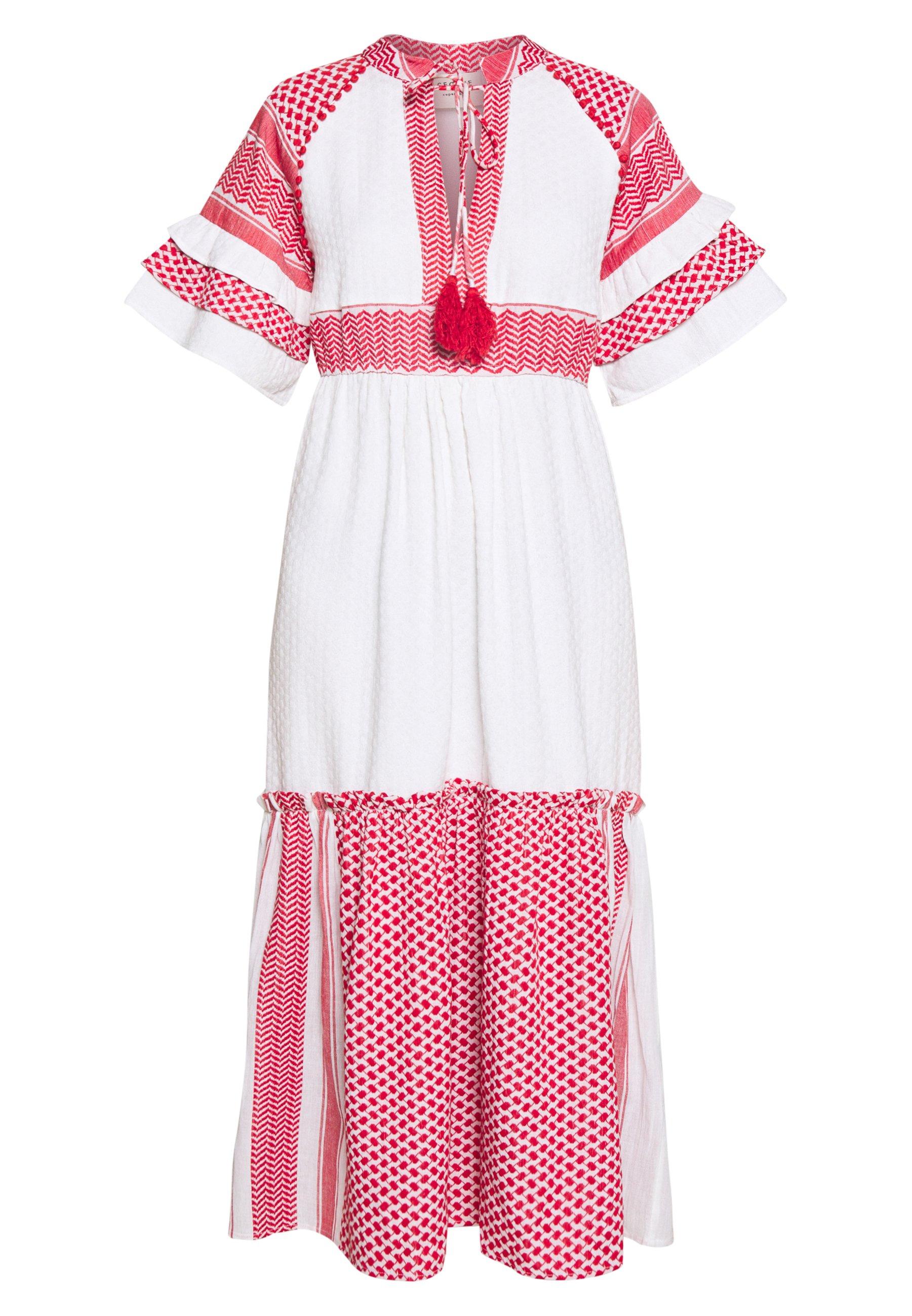 CECILIE copenhagen ANGELA - Sukienka letnia - tomato