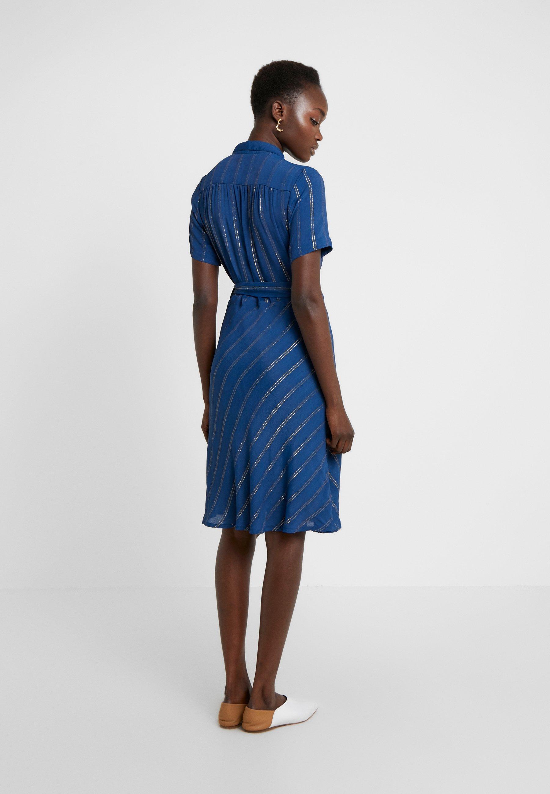 CECILIE copenhagen Robe chemise - bleu marine deep blue