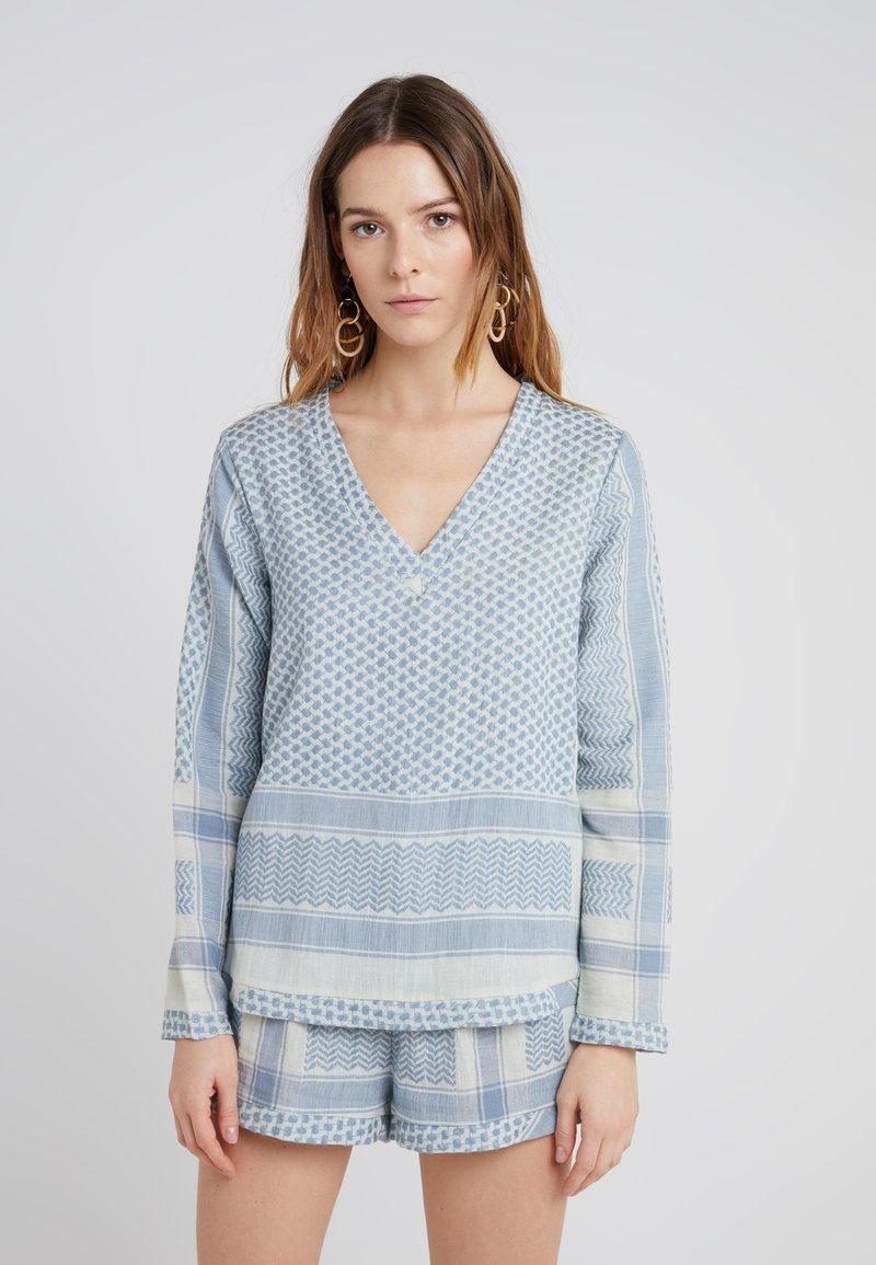CECILIE copenhagen - Blouse - ashley blue
