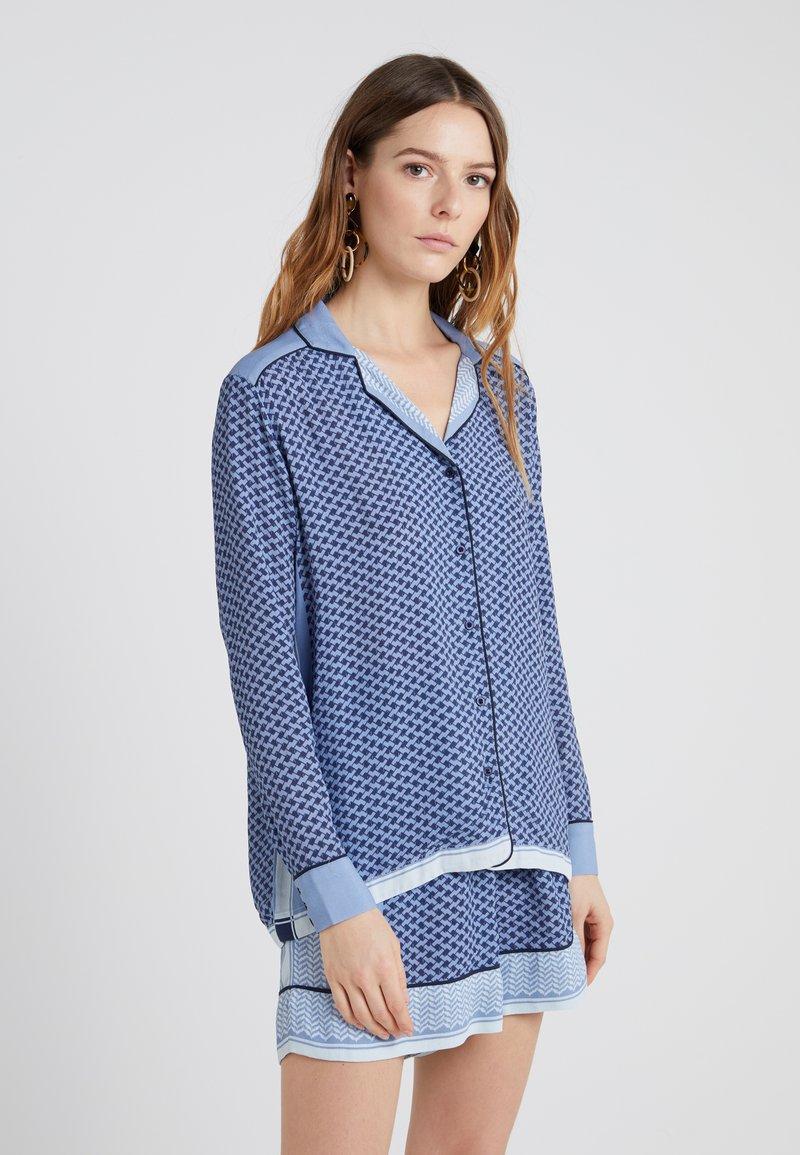 CECILIE copenhagen - LAZY - Košile - blue