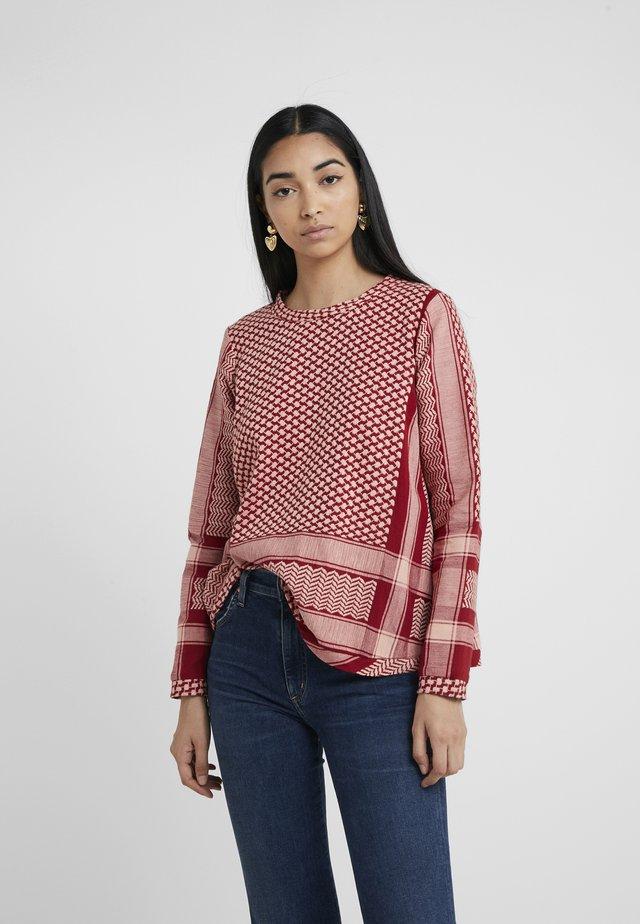Bluse - raspberry