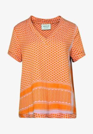 Blouse - tangerine