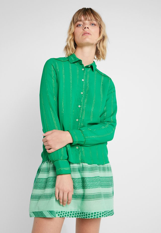 AMALIE - Button-down blouse - grass
