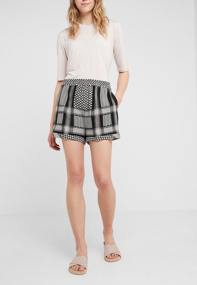 BASIC - Shorts - black/stone