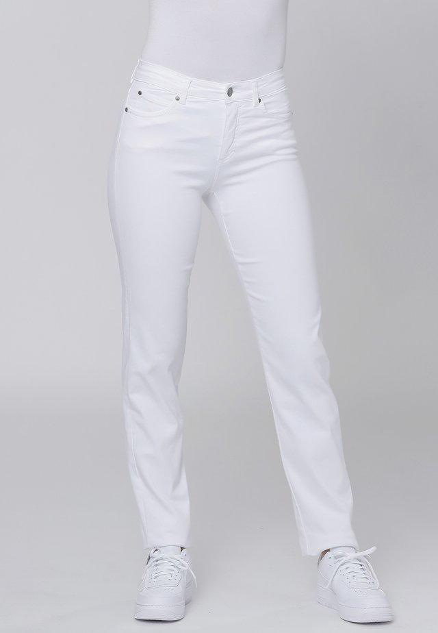 CERO & ETAGE PANTS - Tygbyxor - white