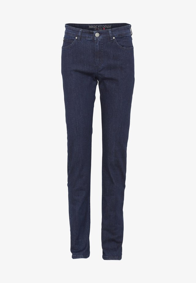 CERO & ETAGE PANTS - Kangashousut - dark blue denim
