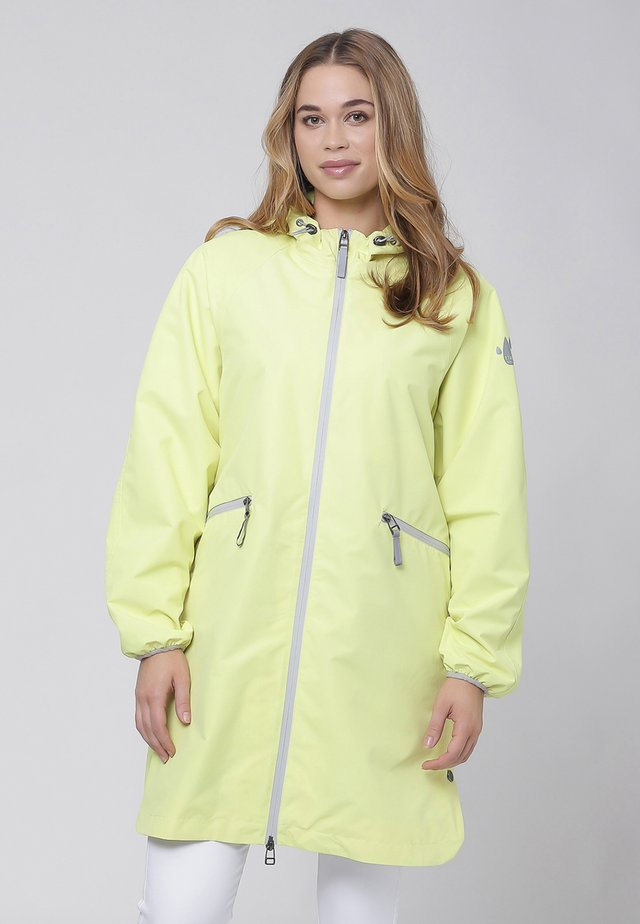 Parka - lime dot