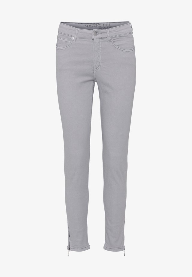 CERO & ETAGE PANTS - Slim fit -farkut - soft grey