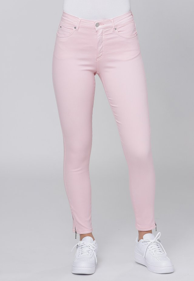 CERO & ETAGE PANTS - Slim fit -farkut - rose