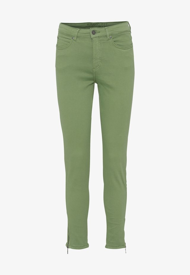 CERO & ETAGE PANTS - Slim fit -farkut - green