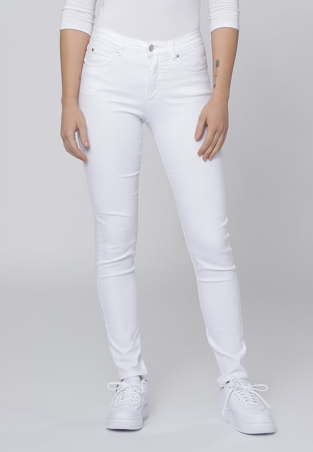 Slim fit jeans - white