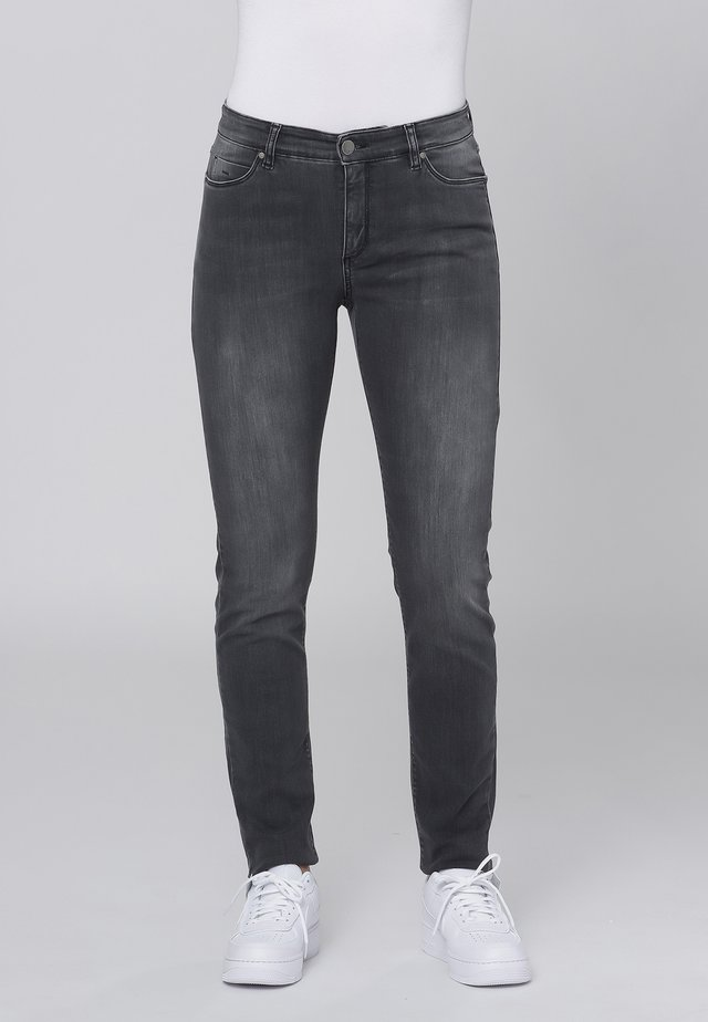 Jeans slim fit - grey heavy wash