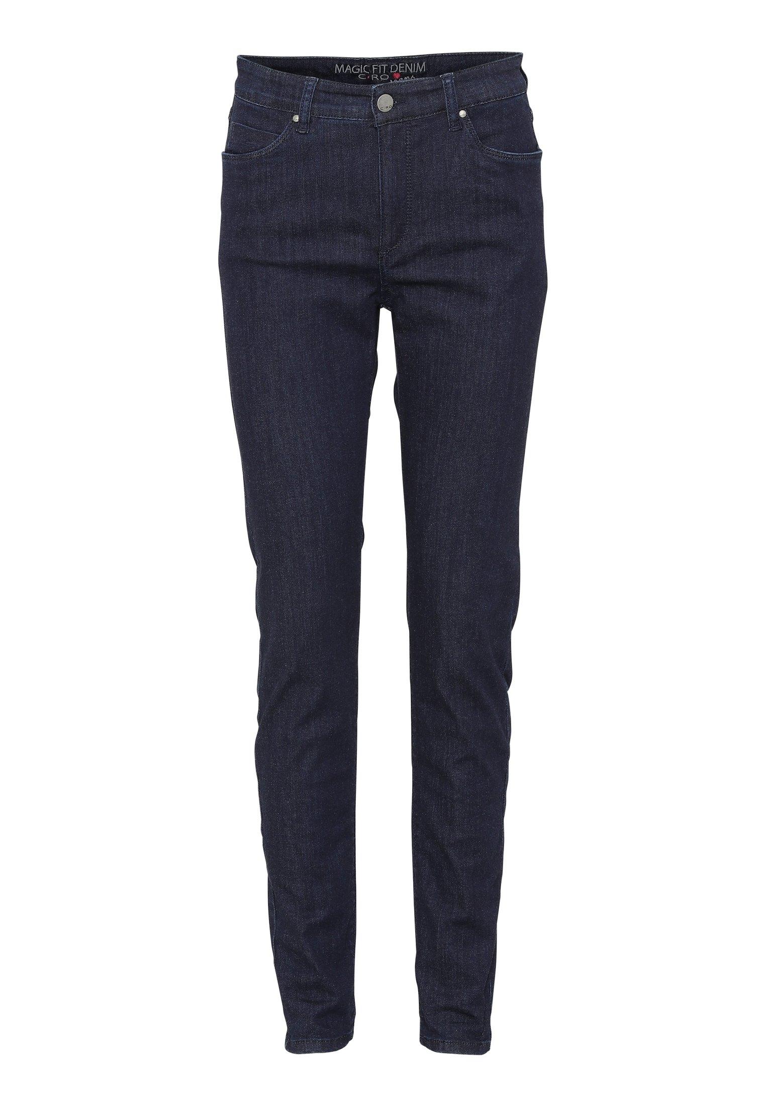 Cero & Etage Slim Fit -farkut - Dark Blue Denim
