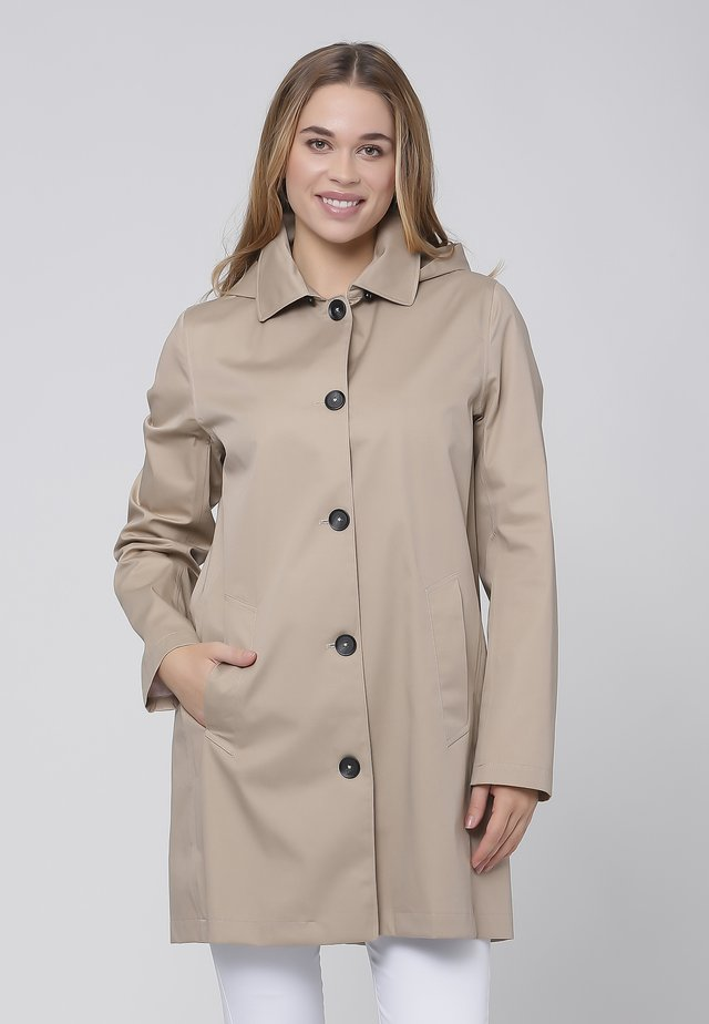 CAR COAT - Kort kappa / rock - sand