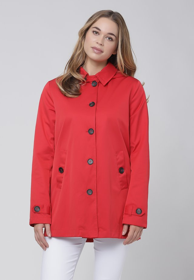 Trenchcoat - red