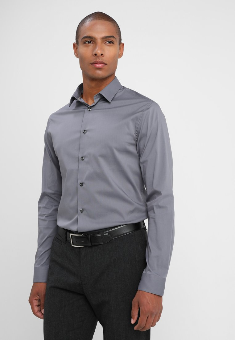 CELIO - MASANTAL - Formal shirt - anthracite